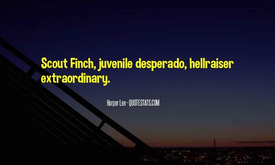 Quotes About Desperado #985058