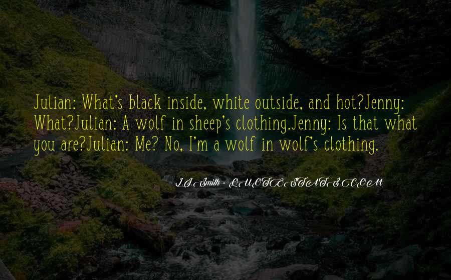 Quotes About Black Wolf #1204671