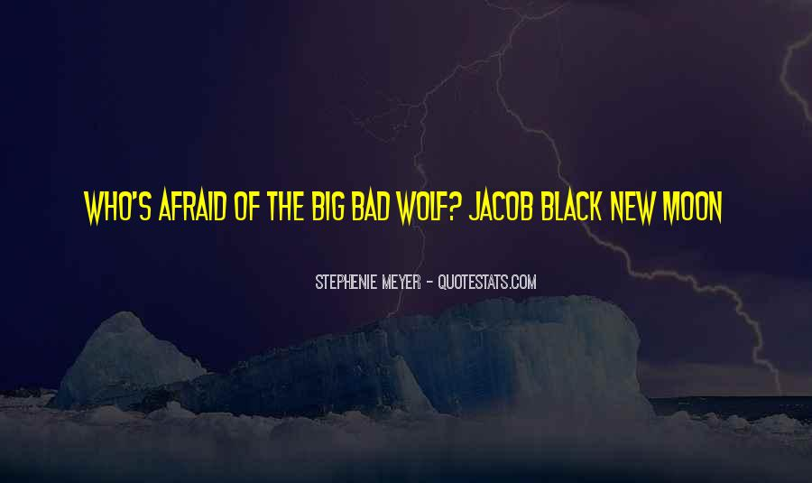 Quotes About Black Wolf #31171