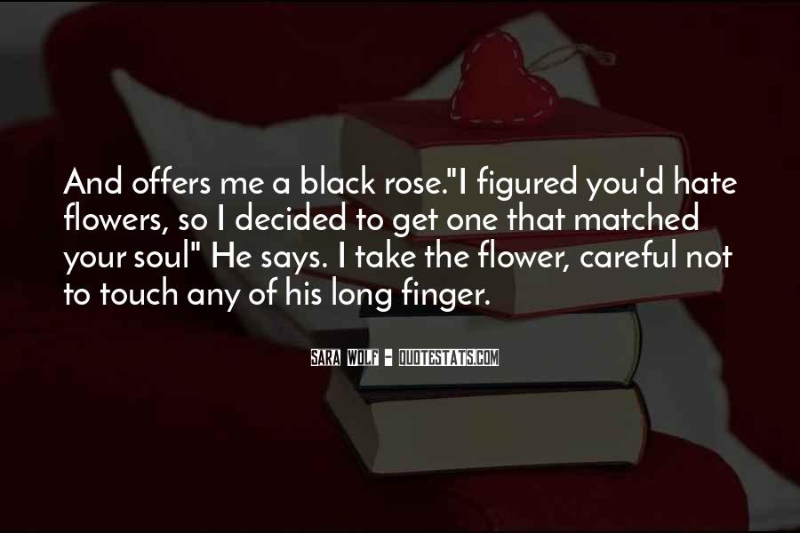 Quotes About Black Wolf #741684