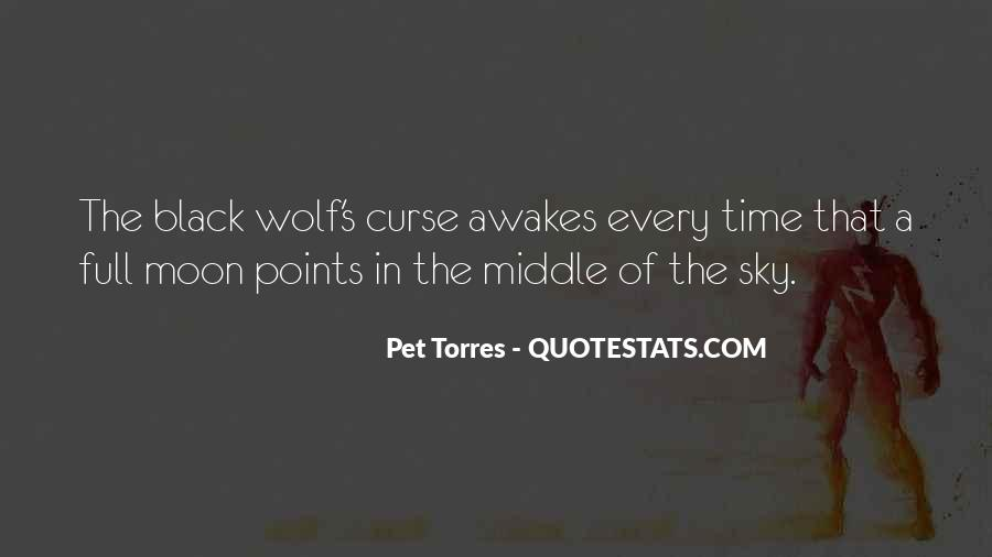 Quotes About Black Wolf #812024