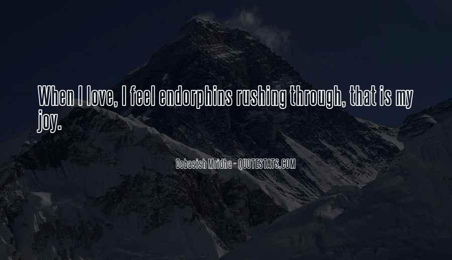 Quotes About Rushing Into Love #165035