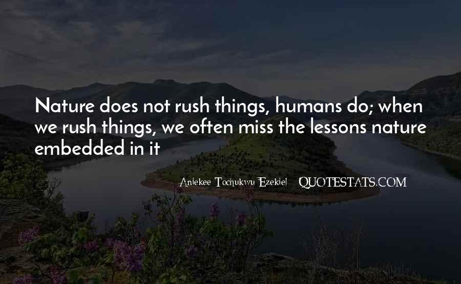 Quotes About Rushing Into Love #604283