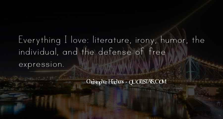 Quotes About Irony Of Love #31898