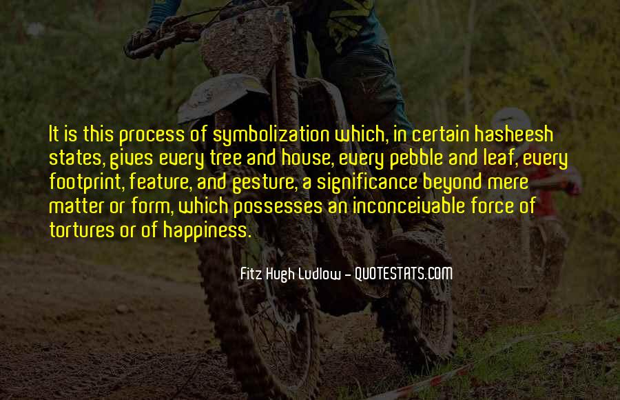 Quotes About Symbolization #1253439