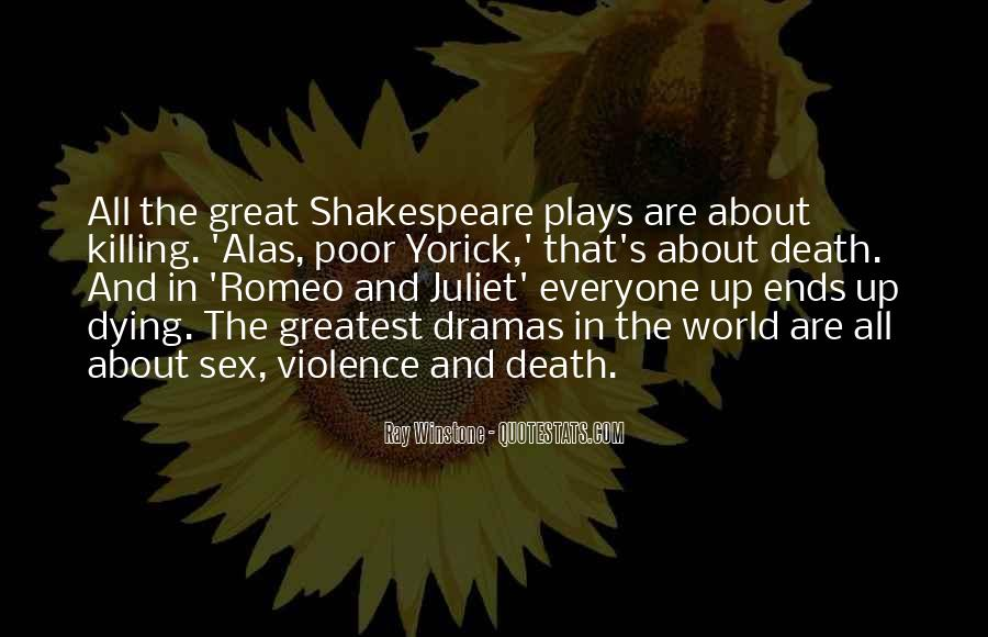 Quotes About Romeo And Juliet Killing Themselves #761729