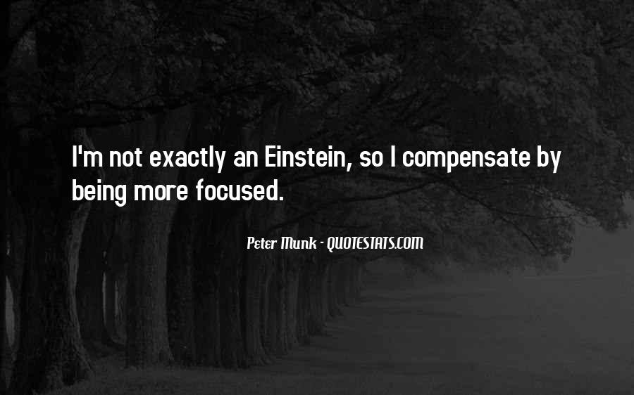 Quotes About Not Being Focused #269074