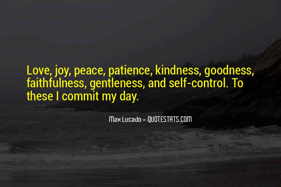 Quotes About Self Control And Love #1198191
