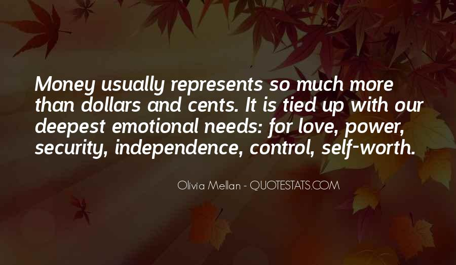 Quotes About Self Control And Love #1448990