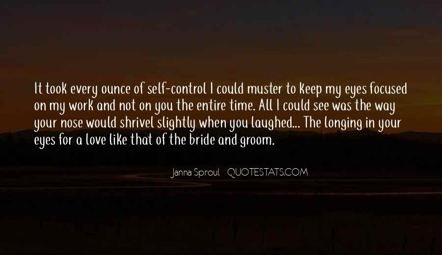 Quotes About Self Control And Love #147672