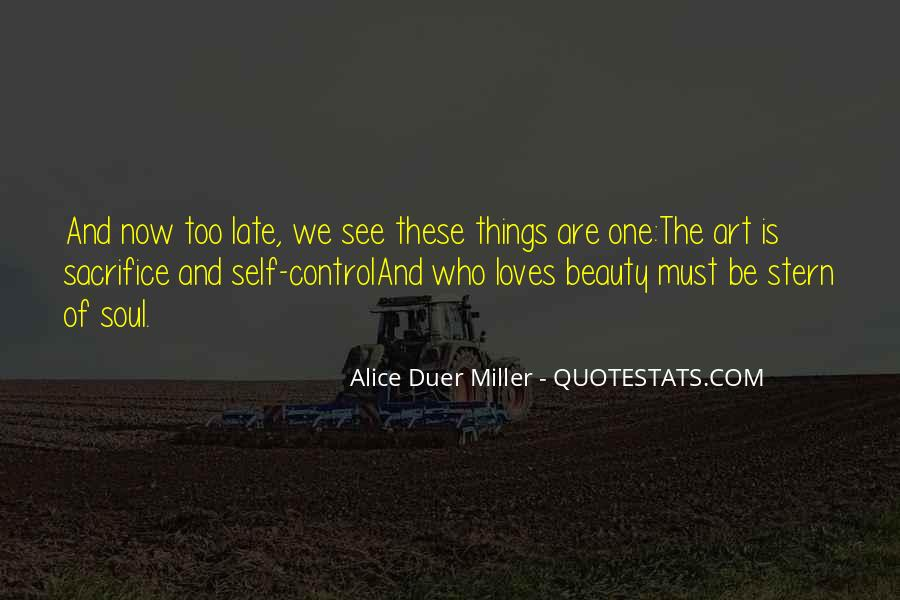 Quotes About Self Control And Love #1769497