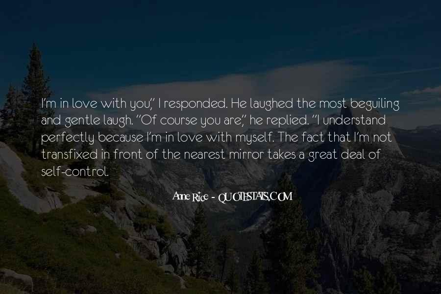 Quotes About Self Control And Love #1860824