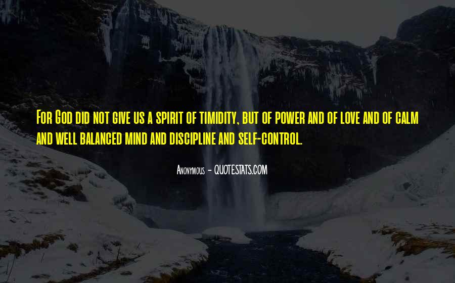 Quotes About Self Control And Love #883955