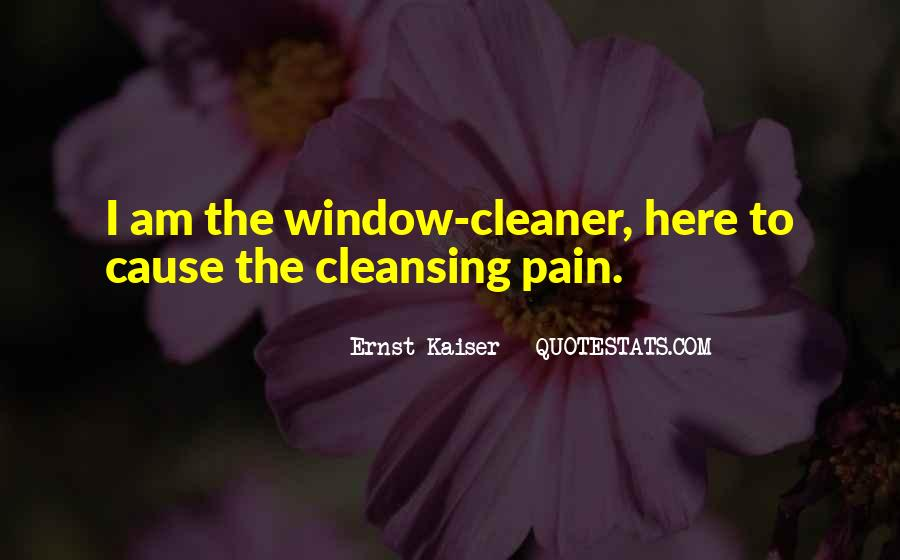 Quotes About Cleansing #414218