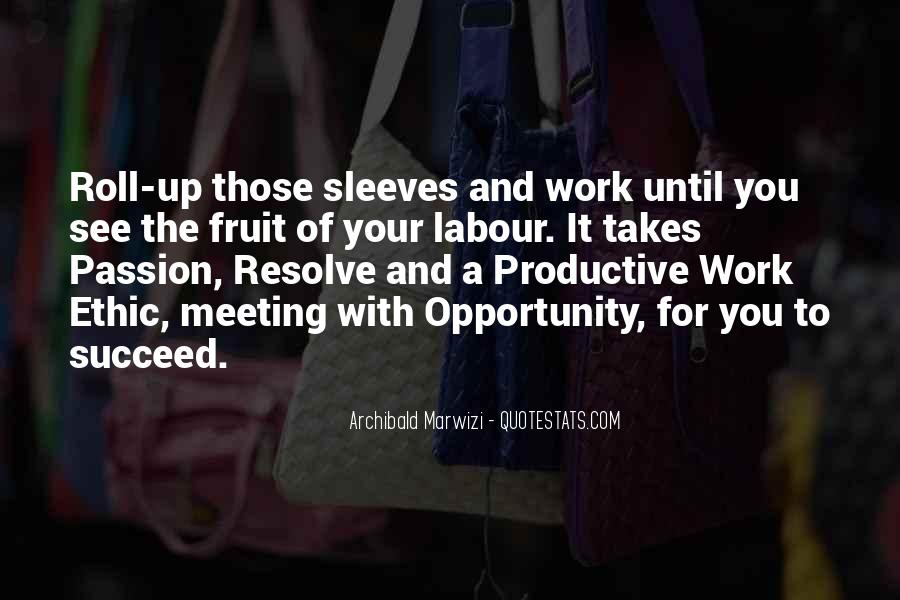 Quotes About Passion Work Success' #204061