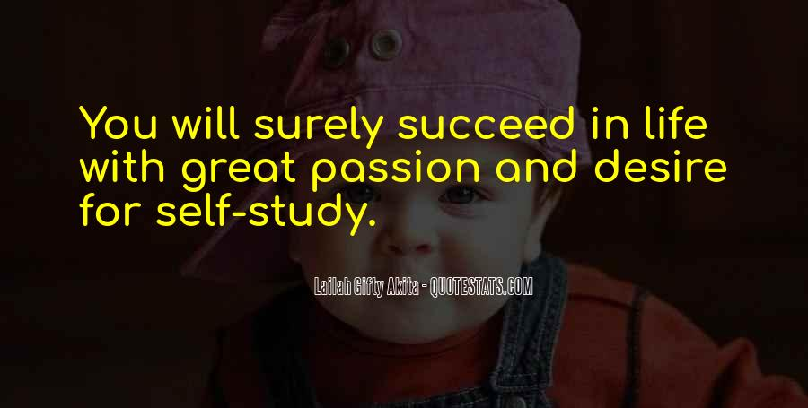 Quotes About Passion Work Success' #336338