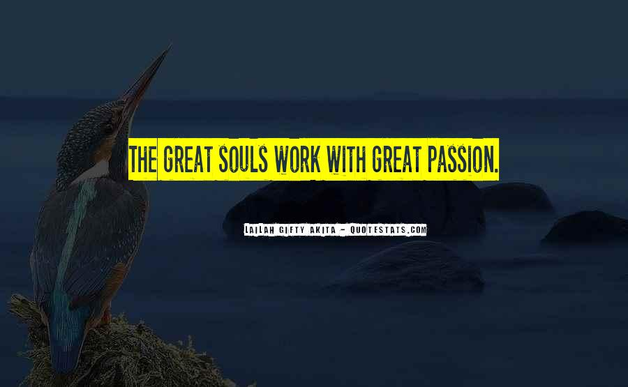 Quotes About Passion Work Success' #70490