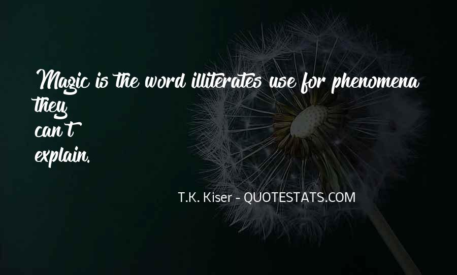 Quotes About The Word K #521861
