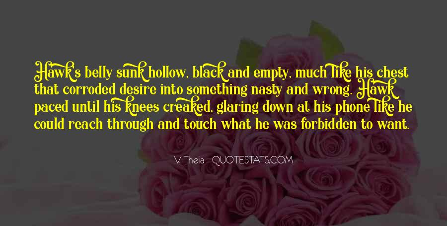 Quotes About Hollow #227085