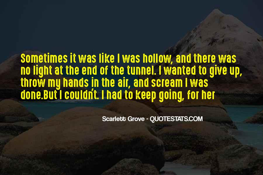 Quotes About Hollow #233637