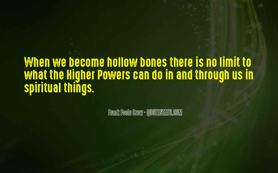 Quotes About Hollow #245633