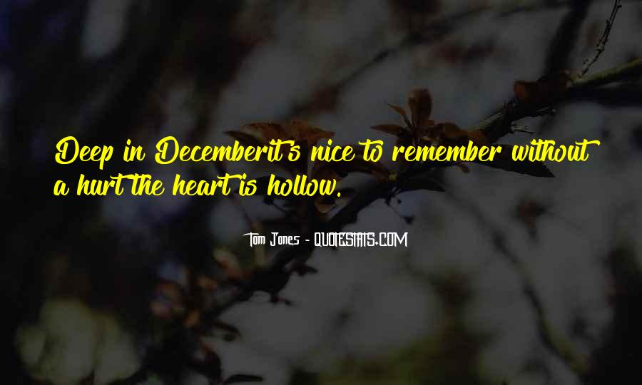 Quotes About Hollow #87939