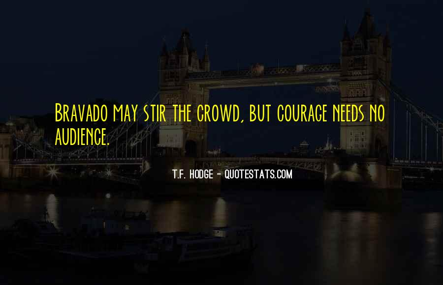 Quotes About Bravery And Determination #764289