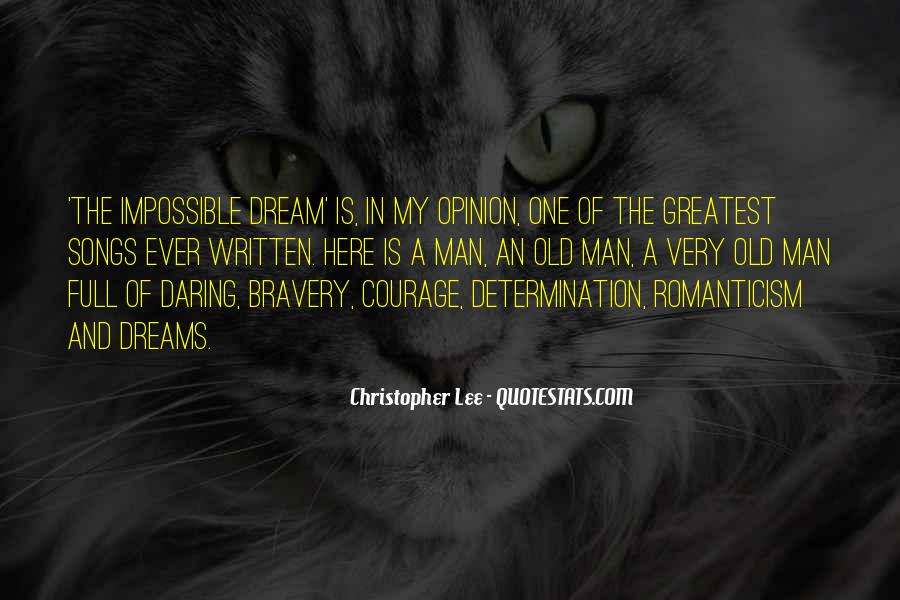 Quotes About Bravery And Determination #798651