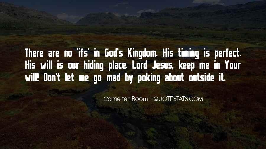 Quotes About God's Perfect Timing #191575