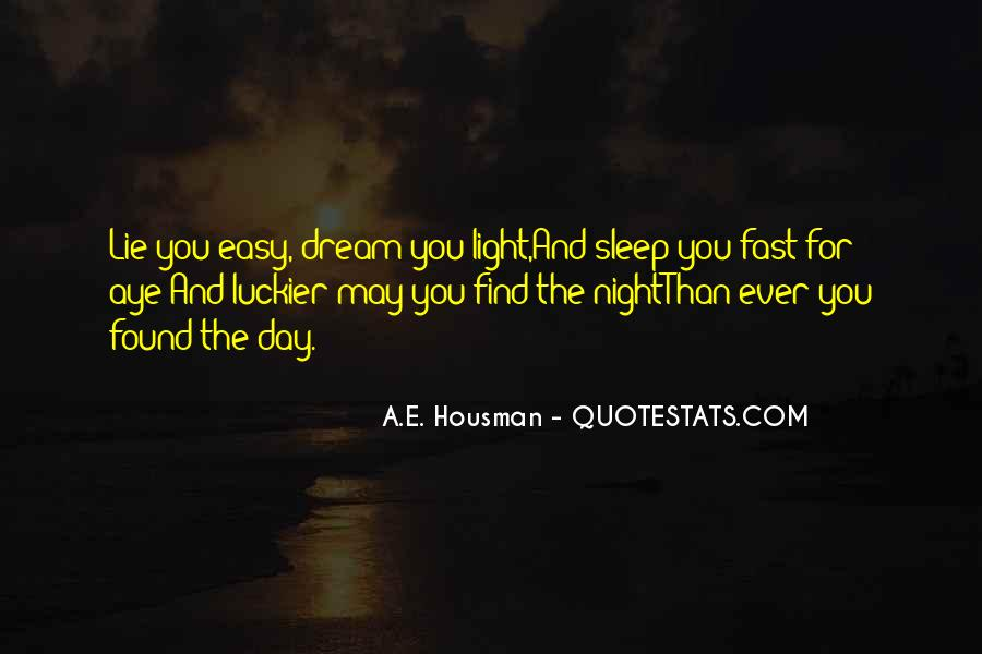 Quotes About Dreams You Have At Night #103407