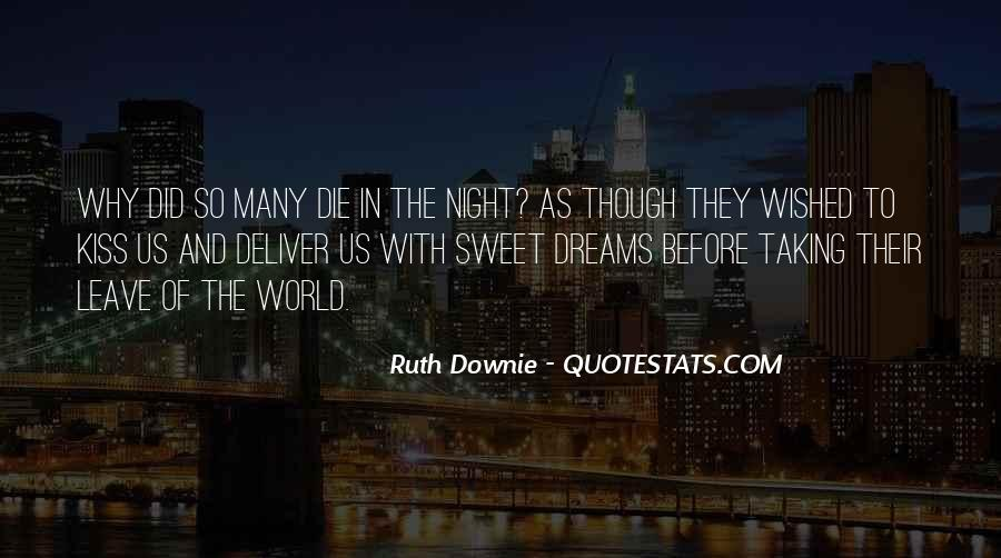 Quotes About Dreams You Have At Night #110968
