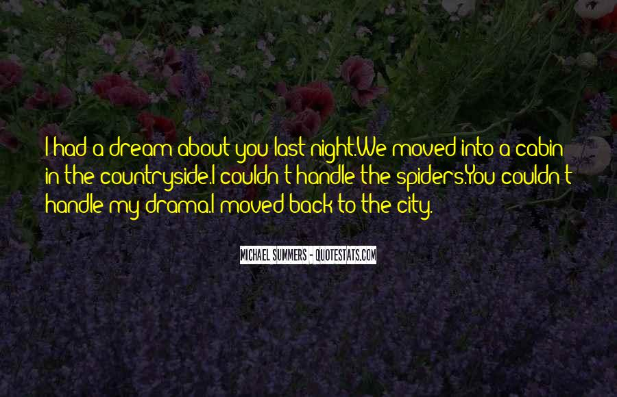 Quotes About Dreams You Have At Night #162063