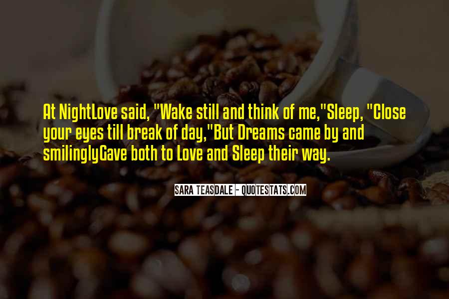 Quotes About Dreams You Have At Night #164397