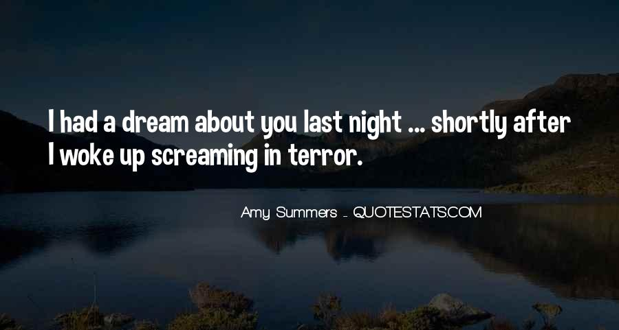 Quotes About Dreams You Have At Night #164610