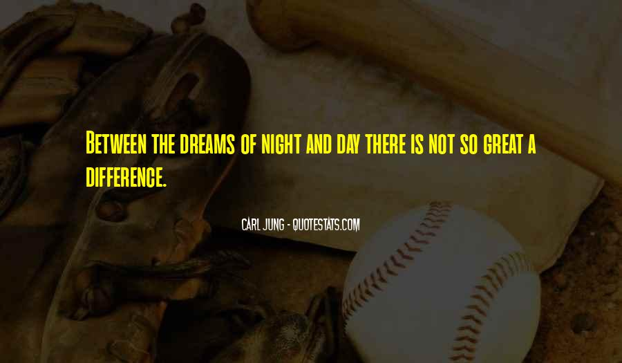 Quotes About Dreams You Have At Night #190441