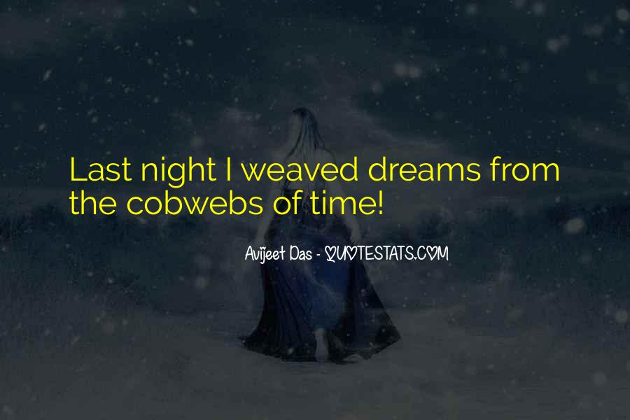 Quotes About Dreams You Have At Night #77217