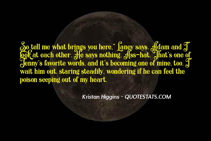 Quotes About Staring Each Other #1112806