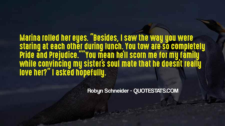 Quotes About Staring Each Other #1528496