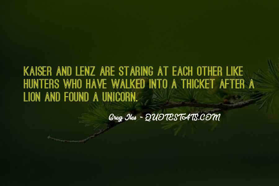 Quotes About Staring Each Other #1684882
