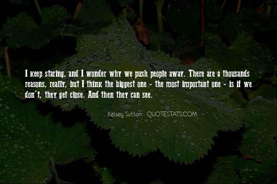 Quotes About Staring Each Other #21301