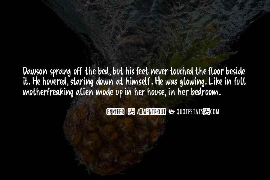 Quotes About Staring Each Other #2331