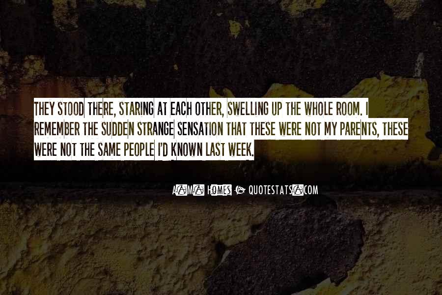 Quotes About Staring Each Other #424861