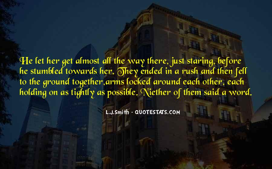 Quotes About Staring Each Other #483318