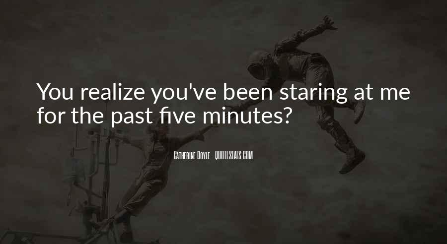 Quotes About Staring Each Other #5369