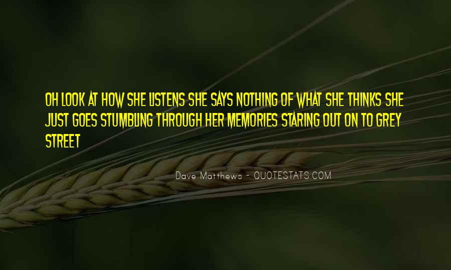 Quotes About Staring Each Other #59044