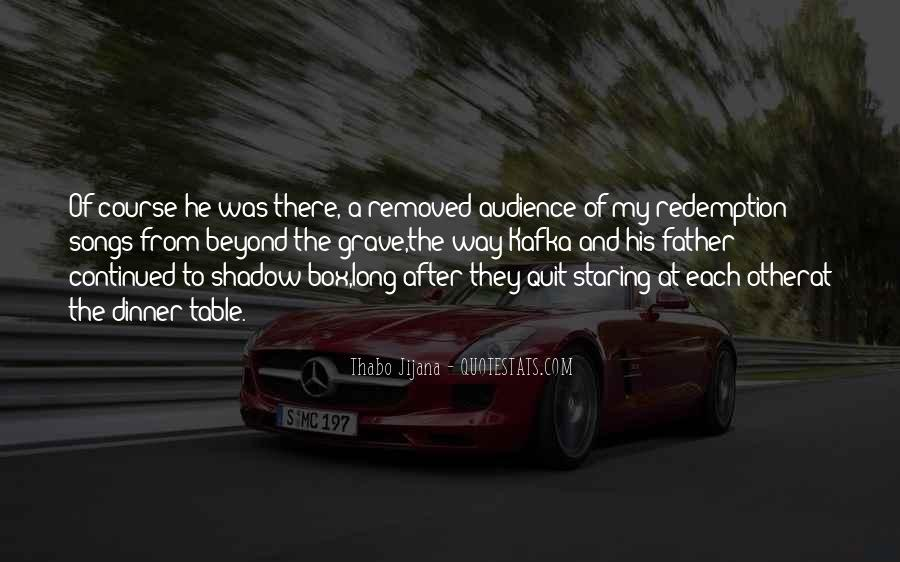 Quotes About Staring Each Other #704653