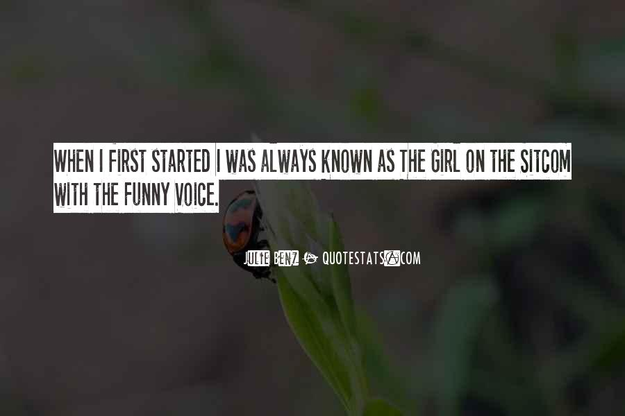 Quotes About Funny Girl #562035