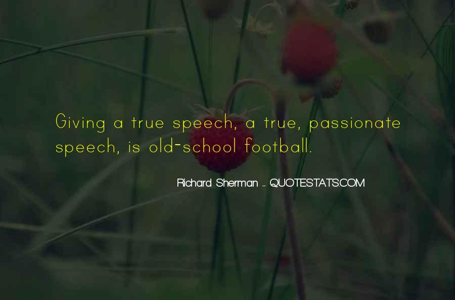 Quotes About Speech Giving #1096248
