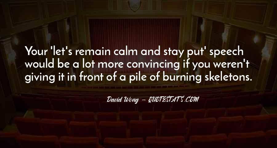 Quotes About Speech Giving #1577815
