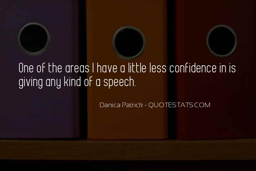 Quotes About Speech Giving #1650281